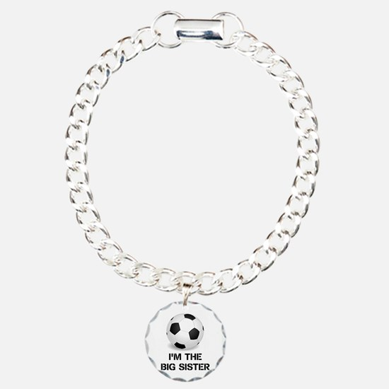 Im the big sister soccer ball Bracelet
