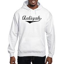 Aaliyah Vintage (Black) Hoodie Sweatshirt