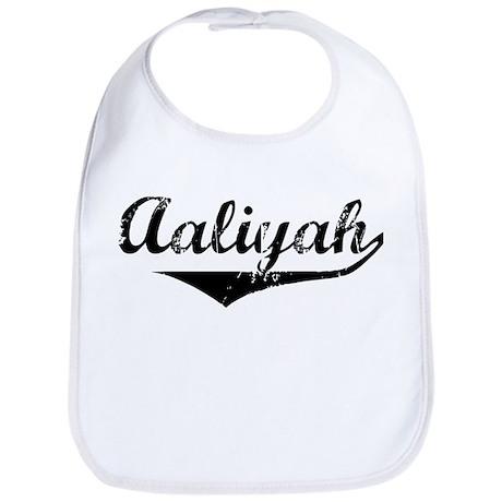 Aaliyah Vintage (Black) Bib