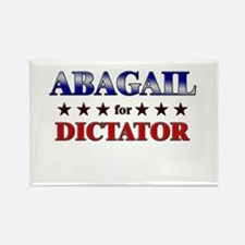 ABAGAIL for dictator Rectangle Magnet