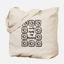 Sushi Maki Me Happy Tote Bag