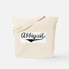 Abbigail Vintage (Black) Tote Bag