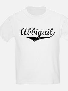 Abbigail Vintage (Black) T-Shirt
