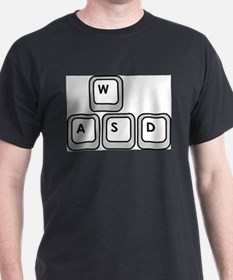Gamer Keys Tee (white) T-Shirt