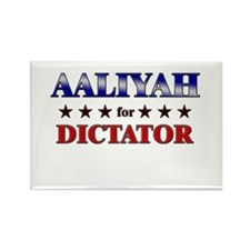 AALIYAH for dictator Rectangle Magnet