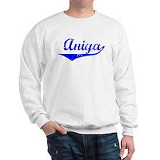 Aniya Vintage (Blue) Sweater