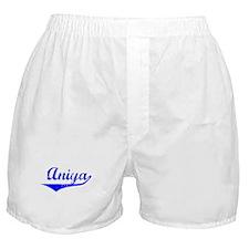 Aniya Vintage (Blue) Boxer Shorts