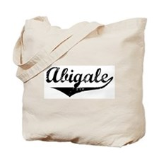 Abigale Vintage (Black) Tote Bag