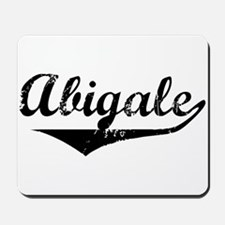 Abigale Vintage (Black) Mousepad