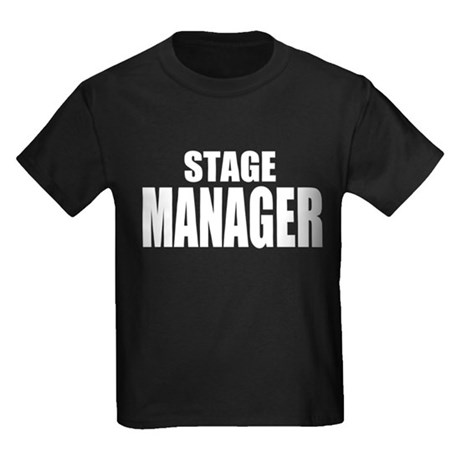 "ThMisc ""Stage Manager"" Kids Dark T-Shirt"
