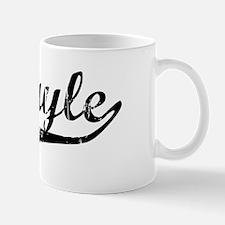 Abigayle Vintage (Black) Mug