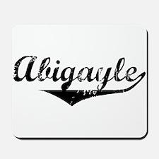Abigayle Vintage (Black) Mousepad
