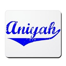 Aniyah Vintage (Blue) Mousepad