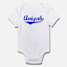 Aniyah Vintage (Blue) Infant Bodysuit