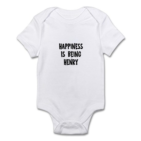 Happiness is being Henry Infant Bodysuit