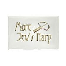 More Jew's Harp Rectangle Magnet