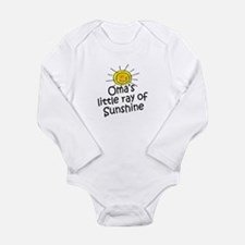 Oma's Sunshine Body Suit