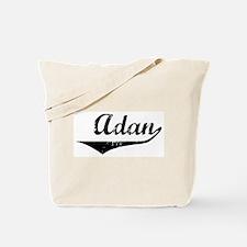 Adan Vintage (Black) Tote Bag