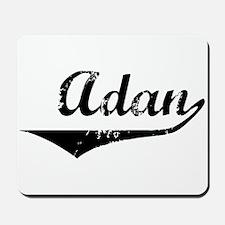 Adan Vintage (Black) Mousepad