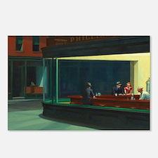 Nighthawks - Edward Hoppe Postcards (Package of 8)