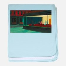 Nighthawks - Edward Hopper baby blanket