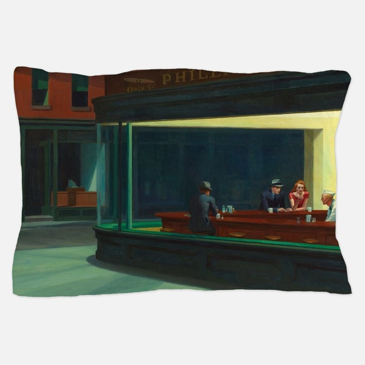 Nighthawks - Edward Hopper Pillow Case