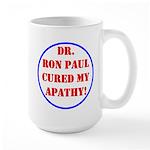 Ron Paul cure-2 Large Mug