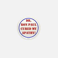 Ron Paul cure-2 Mini Button
