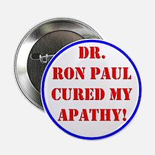 """Ron Paul cure-2 2.25"""" Button"""