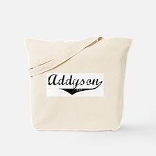Addyson Vintage (Black) Tote Bag