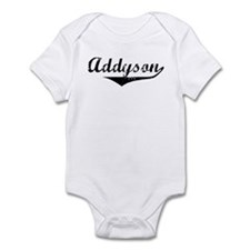 Addyson Vintage (Black) Infant Bodysuit