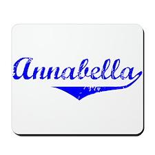 Annabella Vintage (Blue) Mousepad