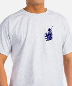 Support Your Local Bagpiper T-Shirt