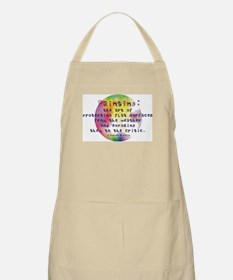 Art Painting Exposed BBQ Apron