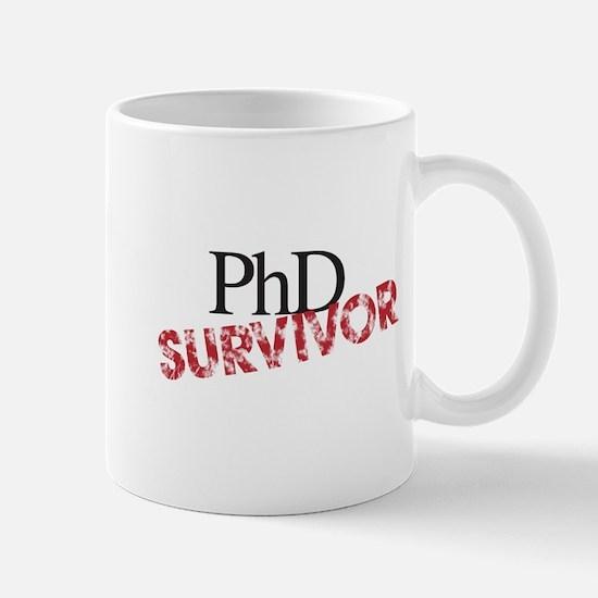 PHD Survivor Mugs