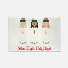 Silent Night Magnets