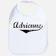 Adrienne Vintage (Black) Bib