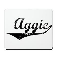 Aggie Vintage (Black) Mousepad