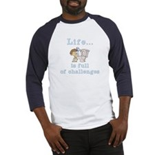 Life is full of Challenges Baseball Jersey