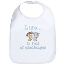 Life is full of Challenges Bib