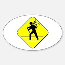 Piper Crossing Oval Decal