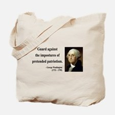 George Washington 17 Tote Bag