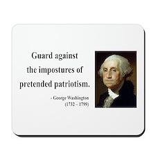 George Washington 17 Mousepad
