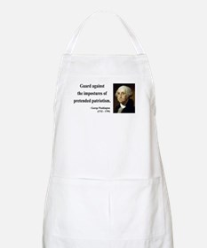 George Washington 17 BBQ Apron