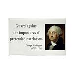 George Washington 17 Rectangle Magnet (100 pack)