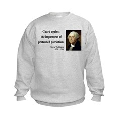 George Washington 17 Sweatshirt
