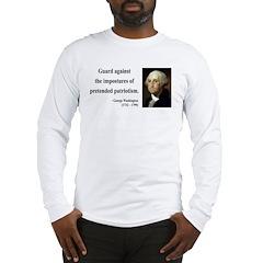 George Washington 17 Long Sleeve T-Shirt