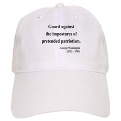 George Washington 17 Baseball Cap