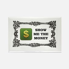 show me the money box Magnets