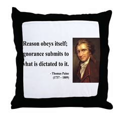 Thomas Paine 23 Throw Pillow
